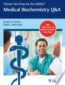 Thieme Test Prep For The Usmle Medical Biochemistry Q A