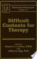 Difficult Contexts For Therapy