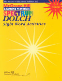 Spectrum Dolch Sight Word Activities  1