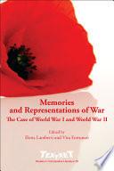Memories and Representations of War