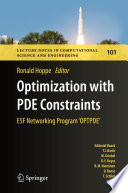 Optimization with PDE Constraints