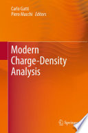Modern Charge-Density Analysis