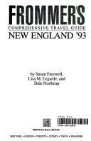 Frommer s New England  1993