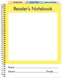 Reader's Notebook: Primary (K-2) (5 Pack) Webinar Now There Are Three Distinct