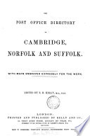 the post office directory of cambridge  norfolk and suffolk