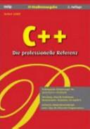 C++ - die professionelle Referenz
