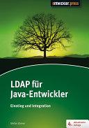 Ldap F R Java Entwickler