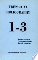 French Sixth Bibliography Most Important Tools For Research In