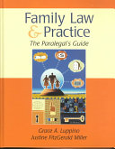 The Paralegal's Guide to Family Law and Practice