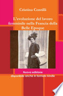 L evoluzione del lavoro femminile nella Francia della Belle Epoque