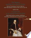 Papauté et le nouvel ordre mondial
