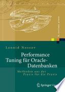 Performance Tuning F R Oracle Datenbanken