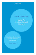 India: An Archaeological History