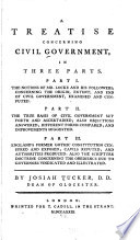 A Treatise Concerning Civil Government