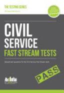 Civil Service Fast Stream Tests  Sample Test Questions for the Fast Stream Civil Service Tests