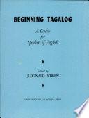 Beginning Tagalog