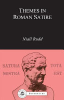 Themes in Roman Satire