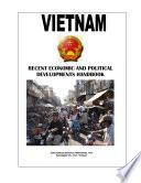 Vietnam Recent Economic And Political Developments Yearbook