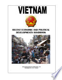 Vietnam Recent Economic and Political Developments Yearbook