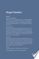 Hegel-Studien / Hegel-Studien Band 21