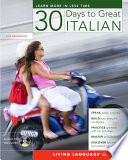 Thirty Days to Great Italian