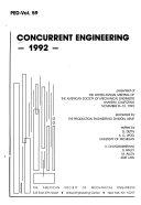 Concurrent Engineering, 1992