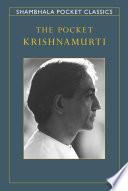 The Pocket Krishnamurti