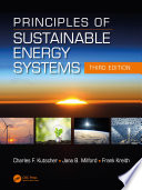 Principles of Sustainable Energy Systems  Third Edition