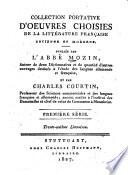 Collection portative d'oeuvres choisies de la littérature française ancienne et moderne