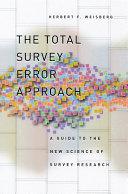 The Total Survey Error Approach