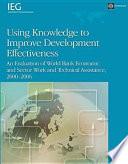 Using Knowledge to Improve Development Effectiveness