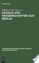 Exodus von Wissenschaften aus Berlin