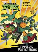 Rise Of The Teenage Mutant Ninja Turtles Official Poster Book Rise Of The Teenage Mutant Ninja Turtles