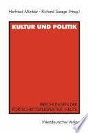 Kultur und Politik