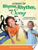 A Feast of Rhyme  Rhythm  and Song