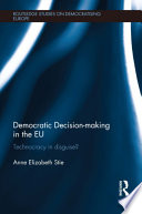 Democratic Decision Making In The Eu