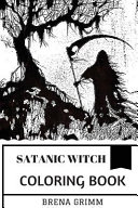 Satanic Witch Coloring Book