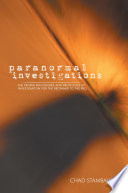 Paranormal Investigations book