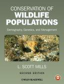 Conservation of Wildlife Populations