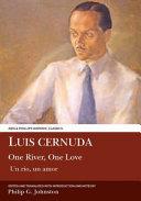 Luis Cernuda  One River  One Love