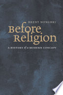 Before Religion Book PDF