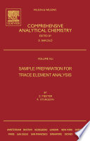 Sample Preparation For Trace Element Analysis book