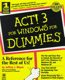 ACT  3 For Windows For Dummies