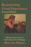 Researching Lived Experience Second Edition