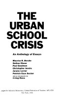 The Urban School Crisis