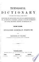 Technological Dictionary
