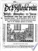 De Historie Van Joseph Simpson En Jonas