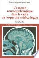 illustration L'examen neuropsychologique dans le cadre de l'expertise médico-légale