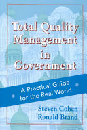 Total quality management in government