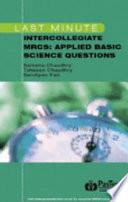 Last Minute Intercollegiate MRCS Applied Basic Science Questions
